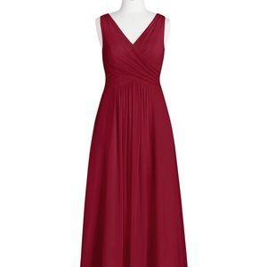 Azazie Burgundy A8 Bridesmaid Dress